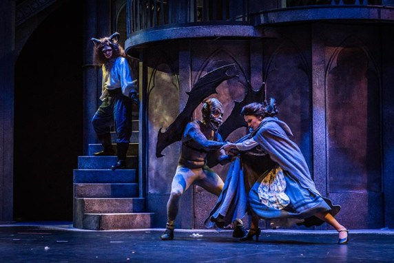 """The Broadway musical """"Beauty and the Beast"""" runs through July 1 at the Dorothy Jemison Day Theater. (Stewart Edmonds)"""