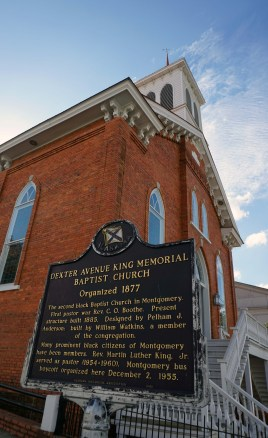 Dexter Avenue King Memorial Baptist Church. (Erin Harney/Alabama NewsCenter)