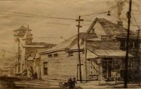Corner store with the Nehi sign, c. 1935. (Erin Harney/Alabama NewsCenter)