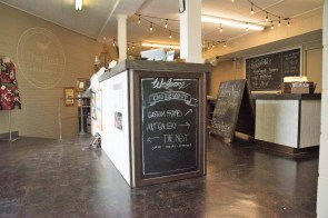 Chirpwood is a frame shop and art gallery with a relaxing café. (Brittany Faush/Alabama NewsCenter)