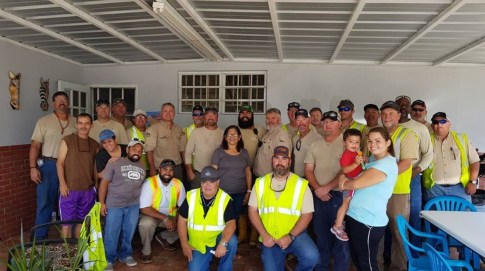 Alabama Power linemen helped restore power to parts of Puerto Rico following Hurricane Maria. (file)