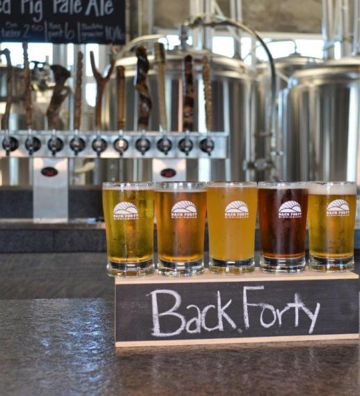 Back Forty Beer Company-Birmingham brews local specialty beers and carries established Back Forty favorites. (Michael Tomberlin / Alabama NewsCenter)