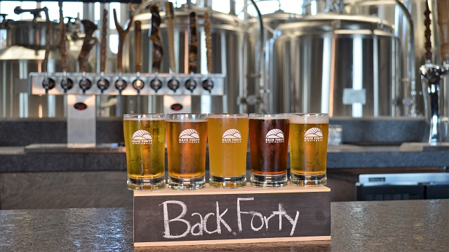 Back Forty Beer Company-Birmingham pouring it on with beer and food