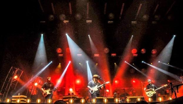 Chris Stapleton performs Sunday at Sloss Fest 2018 in Birmingham. (Billy Brown / Alabama NewsCenter)