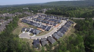Reynolds Landing in Hoover has its own neighborhood microgrid. (file)