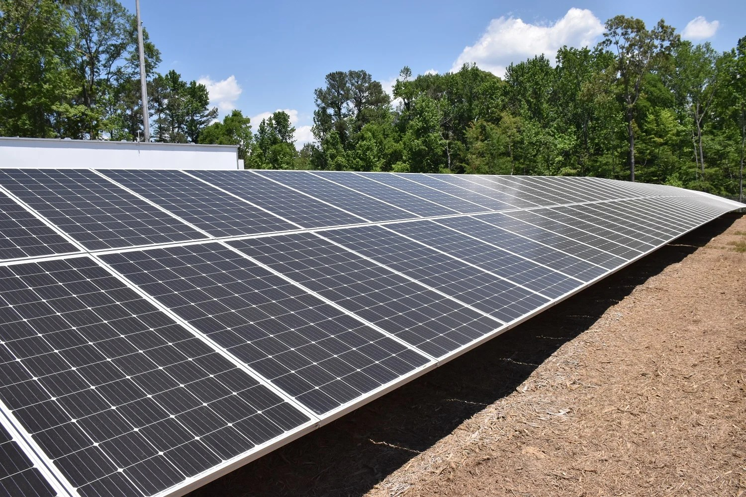 Reynolds Landing in Hoover has its own neighborhood microgrid making use of solar power, among other energy sources. (file)