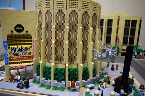 A LEGO replica of McWane embodies its spirit of smart fun. (contributed)