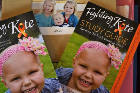 """Fighting for Kate"" is an inspirational story as well as a way to raise money for St. Jude's Children's Research Hospital. (Karim Shamsi-Basha/Alabama NewsCenter)"
