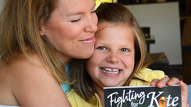 Kate Miller and her family are Alabama Bright Lights after beating cancer