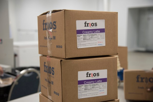 Pops are boxed for refrigerated shipping to stores. (Brittany Faush/Alabama NewsCenter)
