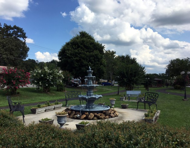 Park across from City Hall in Morris. (Alabama NewsCenter)