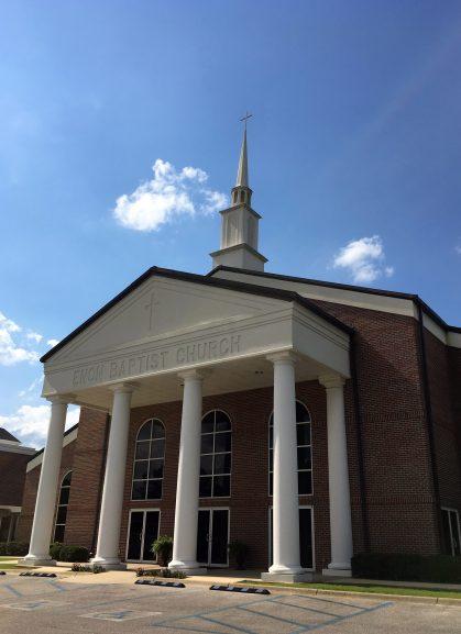 Enon Baptist Church in Morris. (Alabama NewsCenter)