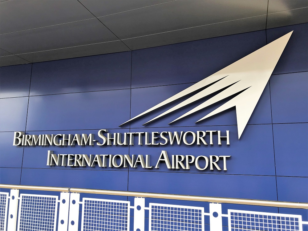 Birmingham airport adds free electric-vehicle charging
