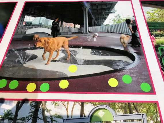 A dog park is among the possible features of a proposed linear park underneath Interstate 59/20. (Michael Sznajderman/Alabama NewsCenter)