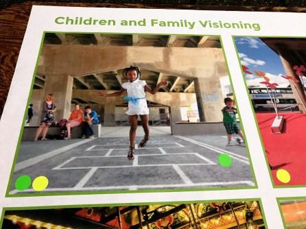 Ideas for CityWalk BHAM include plenty of space for children's activities. (Michael Sznajderman/Alabama NewsCenter)