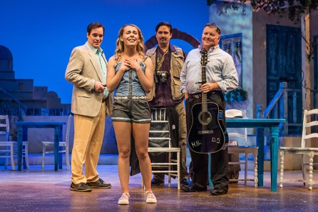 Mamma Mia! is underway through Aug. 5 at the Dorothy Jemison Day Theater in Birmingham. (Contributed)
