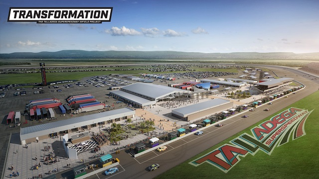 Alabama's Talladega Superspeedway to undergo $50M 'Transformation' to enhance fan experience