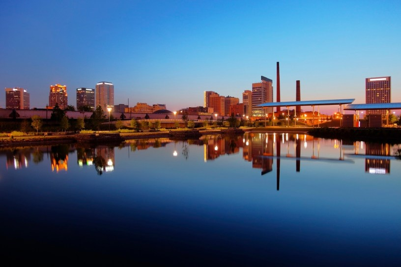 Downtown Birmingham as seen from Railroad Park. The city has come a long way in recent years, and a 2018 Readiness Challenge Grant from the Smart Cities Council will help it take the next step. (iStock)