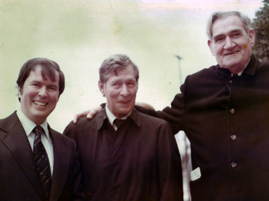 "Federal Judge Frank M. Johnson shown with former Alabama Attorney General and Lt. Gov. Bill Baxley, left, and former Gov. James E. ""Big Jim"" Folsom. (From Encyclopedia of Alabama, courtesy of Alabama Department of Archives and History.)"