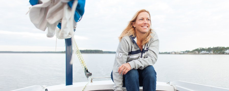 Michelle Segrest, a journalist and a sailor, is about to embark on a months-long adventure. (Photo/Michelle Segrest)