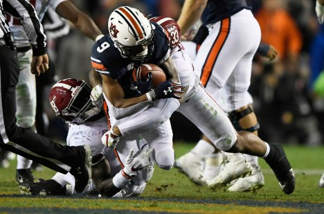 Alabama will face Auburn at 2:30 p.m. in the 82nd annual game. (Todd Van Emst/AU Athletics)