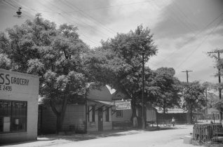 Street scene, Phenix City, 1941. (Photograph by Jack Delano, Library of Congress, Prints and Photographs Division)