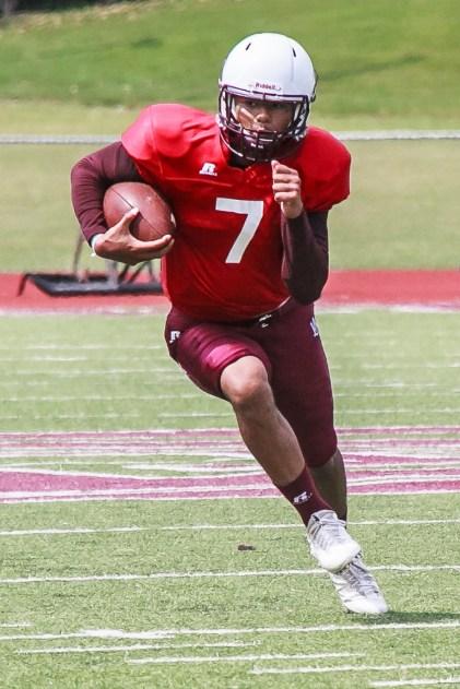 Josh Cartwright is one of three quarterbacks contending for the starting job at Alabama A&M. (Alabama A&M Athletics)