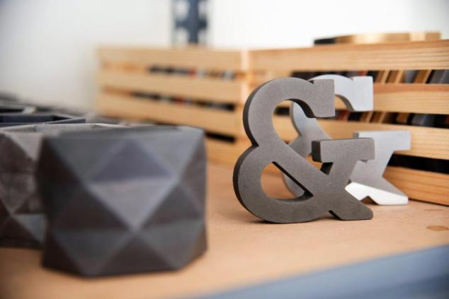 Josh Pigford of Cedar & Sail is an Alabama Maker producing handmade products from concrete and molds he creates with a 3D printer. (Brittany Faush / Alabama NewsCenter)