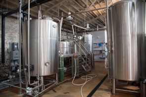 The chemists who own Common Bond Brewery love to experiment in the lab. (Brittany Faush/Alabama NewsCenter)