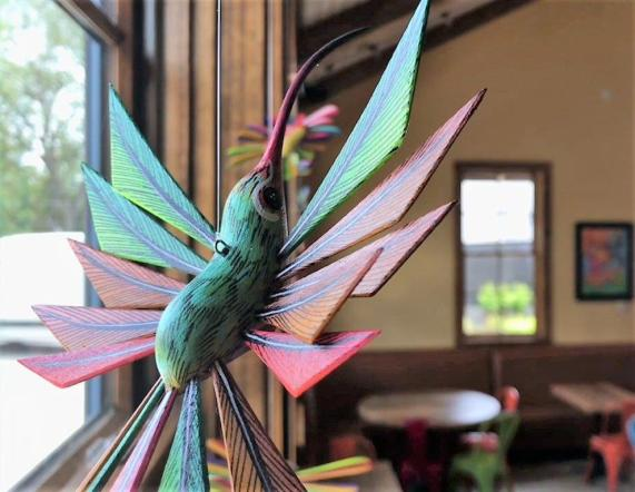 El ZunZun is a new Birmingham area restaurant with Latin flavors inspired by the migratory patterns of hummingbirds. (Dennis Washington / Alabama NewsCenter)