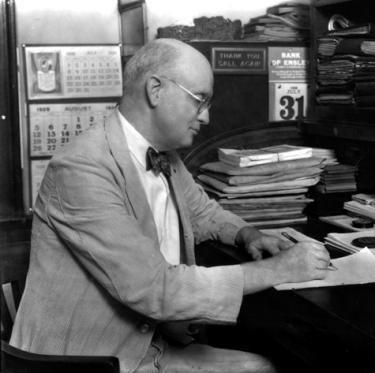 Erskine Ramsay, c. 1928. (Birmingham News photograph, Birmingham Public Library Archives, BhamWiki)