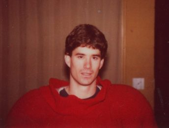 Hugh Dye was the first to wear the Big Al costume as the Alabama Crimson Tide mascot. (Image courtesy of Hugh Dye)