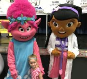 Kids loved the cartoon characters. (Donna Cope/Alabama NewsCenter)