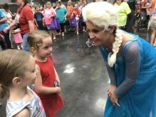 Children were fascinated by Elsa, of 'Frozen' fame. (Donna Cope/Alabama NewsCenter)