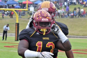 Defensive lineman Kali James. (Tuskegee University Athletics)
