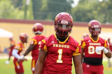Defensive lineman Terrance Leatherwood.(Tuskegee University Athletics)