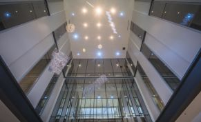 The interior of the new Collat building. (Adam Pope/UAB)