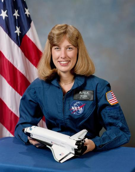 Portrait of astronaut N. Jan Davis, Oct. 9, 1987. (NASA)