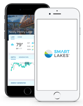 The new Smart Lakes app from Alabama Power and Shorelines provides up-to-date information and improved graphics. (Shorelines)