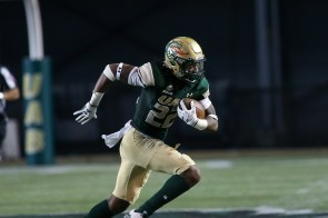 Thomas Broderick carries the ball for UAB. (UAB Athletics)