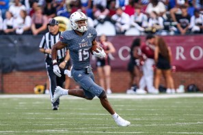 Damion Willis has a chance to be Troy's leading receiver and an all-conference player, his coach says. (Troy University Athletics)
