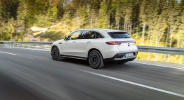 The 2020 Mercedes-Benz EQC is Mercedes' challenge to Tesla in the electric vehicle market. (Mercedes)