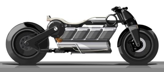 """Curtiss Motorcycles has announced Hera will be the second electric motorcycle in its """"Hot Rod Gods"""" collection and will be available in 2020. (Curtiss Motorcycles)"""