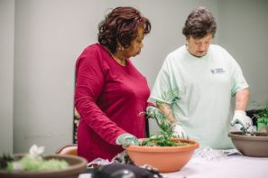 Many survivors take part in gardening therapies at the Birmingham Botanical Gardens. (Forge)