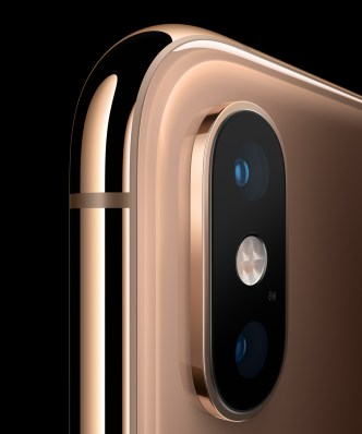 The iPhone Xs, starting at $999, succeeds last year's flagship model with a faster A12 processor and updated cameras. (contributed)