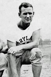 Paul Bryant as University of Maryland head coach, 1945. (University of Maryland year book, Wikipedia)