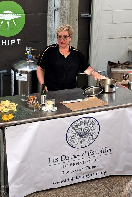 Chef Rebel Negley prepared an easy-to-make Pot Roast in a pressure cooker just like grandma at Les Dames Takeover series at the Market at Pepper Place. (Alabama NewsCenter)
