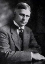 Portrait of George H. Denny, c. 1919. (Corolla, University of Alabama yearbook, Wikipedia)