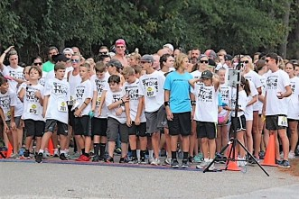 When Behind the Smile held its first TyDy4Tyler 5K run, co-founders Tara Martin and Jessica Ponder were hoping for 100 runners. About 400 showed up. (contributed)