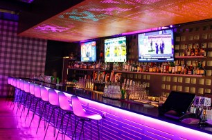 The bar at The Woolworth. (Dennis Washington/Alabama NewsCenter)